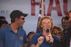 Personas Geraldton Foto de archivo libre de regalías