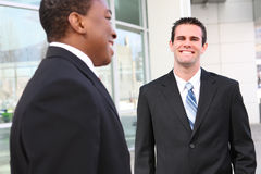 Personas hermosas de los hombres de negocios Imagen de archivo libre de regalías