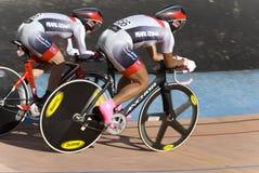 Personas japonesas en los campeonatos de ciclo asiáticos 2012 Fotografía de archivo libre de regalías