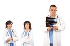 Personas médicas Imagen de archivo libre de regalías
