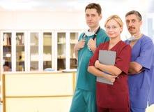Personas médicas jovenes Foto de archivo libre de regalías