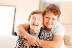 Personas mayores Imagen de archivo libre de regalías