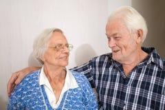 Personas mayores felices Foto de archivo