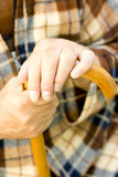 Personas mayores solas Imagen de archivo