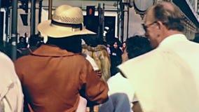 Personas negras de Londres almacen de video