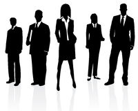Personas profesionales del asunto Imagen de archivo libre de regalías