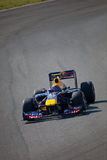 Personas Red Bull que compite con F1, marca Webber, 2011 Foto de archivo