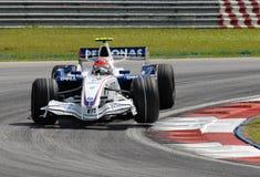 Personas Roberto Kubi de BMW Sauber F1 Fotos de archivo libres de regalías