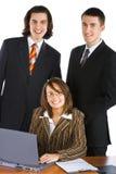 Personas sonrientes jovenes del asunto Foto de archivo