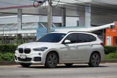 Personbil BMW X1 Arkivbilder