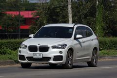 Personbil BMW X1 Arkivfoto