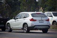 Personbil BMW X1 Royaltyfria Bilder