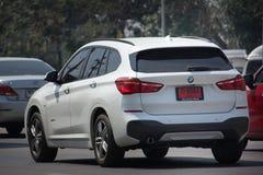 Personbil BMW X1 Royaltyfri Bild