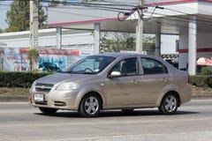 Personbil Chevrolet Aveo Arkivfoton