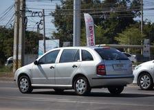 Personbil fabia skoda Fotografering för Bildbyråer