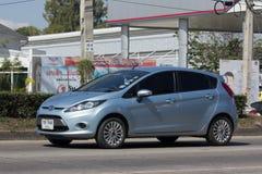 Personbil Ford Fiesta, sjätte utveckling Royaltyfri Foto