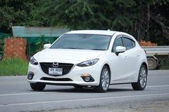Personbil Mazda3 Royaltyfria Foton