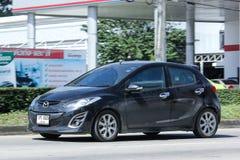 Personbil Mazda 2 Fotografering för Bildbyråer
