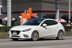 Personbil Mazda3 Royaltyfri Foto