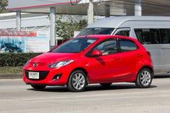 Personbil Mazda 2 Royaltyfri Bild