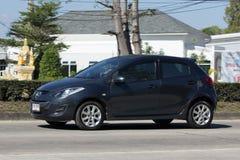 Personbil Mazda 2 Arkivbild