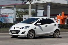 Personbil Mazda 2 Royaltyfri Fotografi