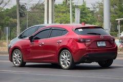 Personbil Mazda 3 Royaltyfria Bilder