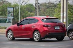 Personbil Mazda 3 Royaltyfri Foto
