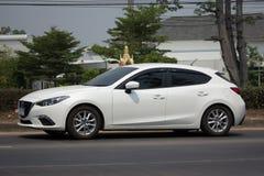 Personbil Mazda 3 Arkivfoto