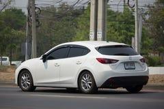 Personbil Mazda 3 Royaltyfri Fotografi