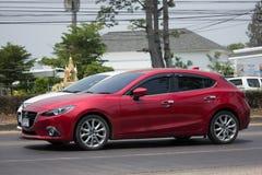 Personbil Mazda3 Royaltyfria Bilder
