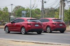 Personbil Mazda3 Arkivfoto