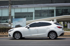 Personbil Mazda3 Fotografering för Bildbyråer