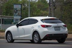 Personbil Mazda3 Royaltyfri Bild