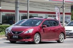 Personbil Nissan Pulsar Arkivfoton