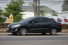 Personbil Peugeot 408 Arkivfoto