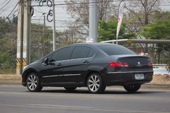 Personbil Peugeot 408 Arkivfoton
