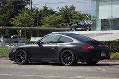 Personbil Porsche carrera 4s Royaltyfria Bilder