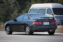 Personbil Toyota Celica Royaltyfri Bild