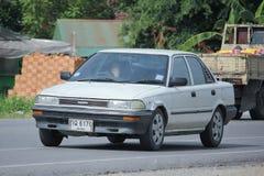 Personbil Toyota Corolla fotografering för bildbyråer