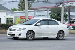 Personbil Toyota Corolla royaltyfri foto