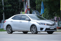 Personbil Toyota Corolla Altis arkivfoton