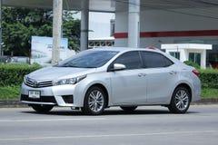 Personbil Toyota Corolla Altis arkivfoto