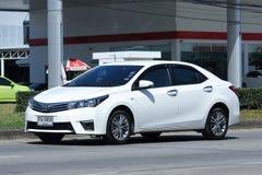 Personbil Toyota Corolla Altis fotografering för bildbyråer