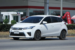 Personbil Toyota Yaris Arkivfoton