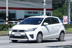 Personbil Toyota Yaris Fotografering för Bildbyråer