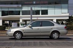 Personbilisuzuhjässa samma kropp av Honda Civic Arkivbild