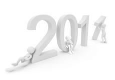 Persone che creano le date 2011 Immagini Stock