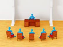 Persone che hanno riunione d'affari Immagini Stock Libere da Diritti