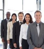 Persone di affari dalle colture differenti Immagine Stock Libera da Diritti